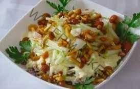 Салат из опят и картофеля