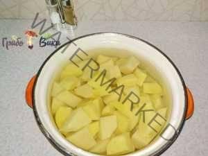 Зразы картофельные с ливером и грибами_2_шаг